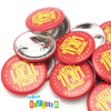 Support Local Musicians Pinback Button